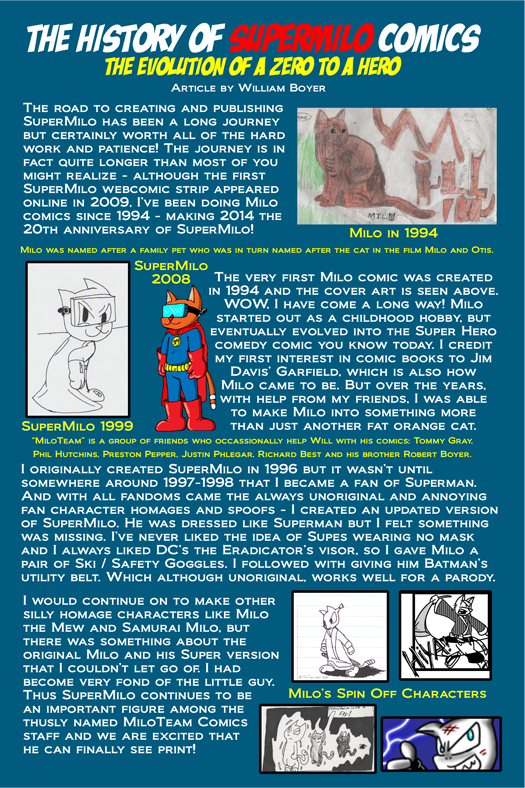 History of MiloComics