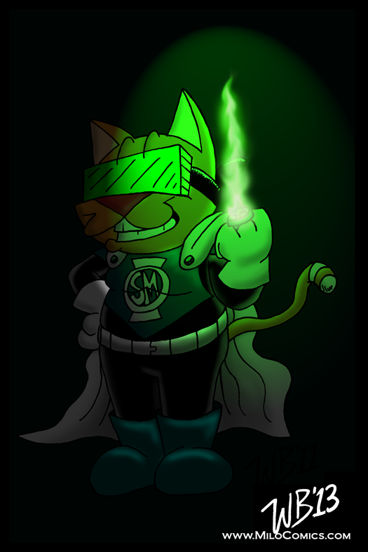 Green Lantern SuperMilo