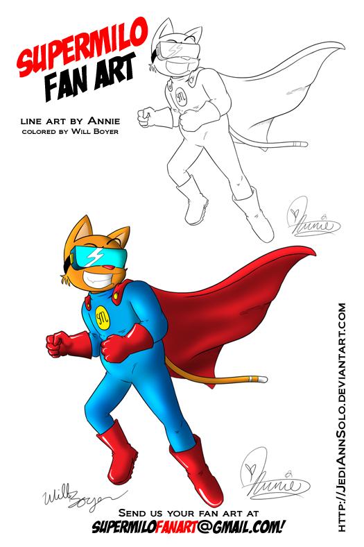 SuperMilo Fan Art 3