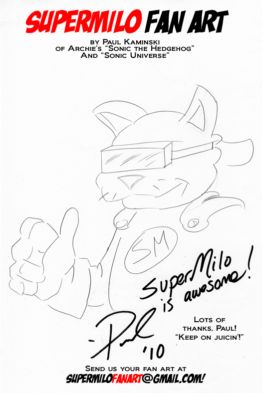 SuperMilo Fan Art 5