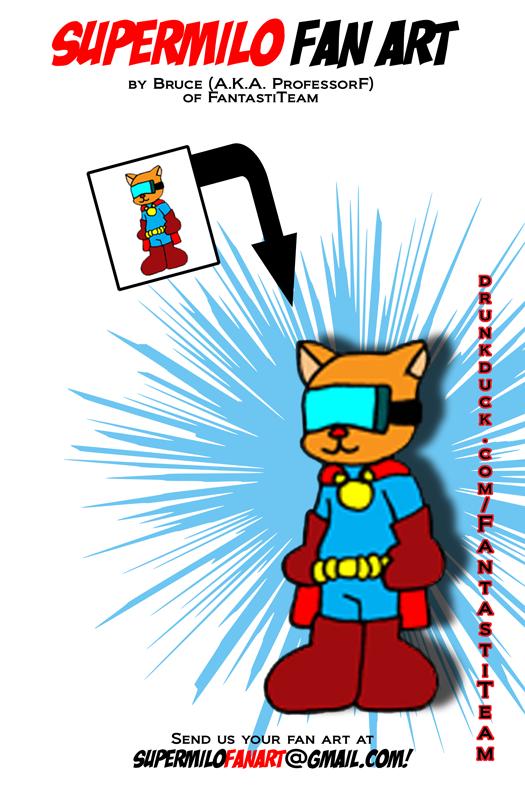 SuperMilo Fan Art 8