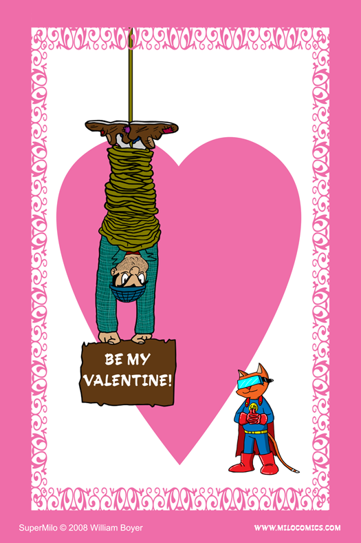 SuperMilo Valentines Card